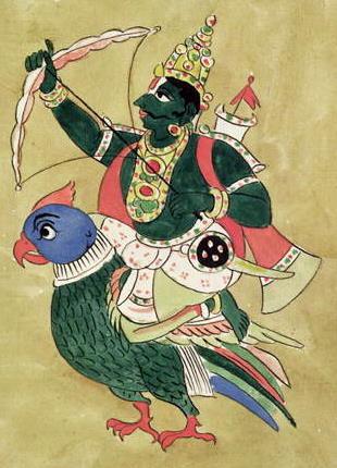 God of love Kamadeva