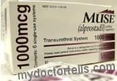 image ,M.U.S.E. through urethra alprostadil is inserted as treatment for erectile dysfuncion