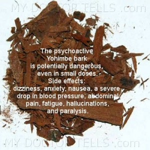 image yohimbe bark can be dangerous and has sidedffects herbal remedies for sexual problems