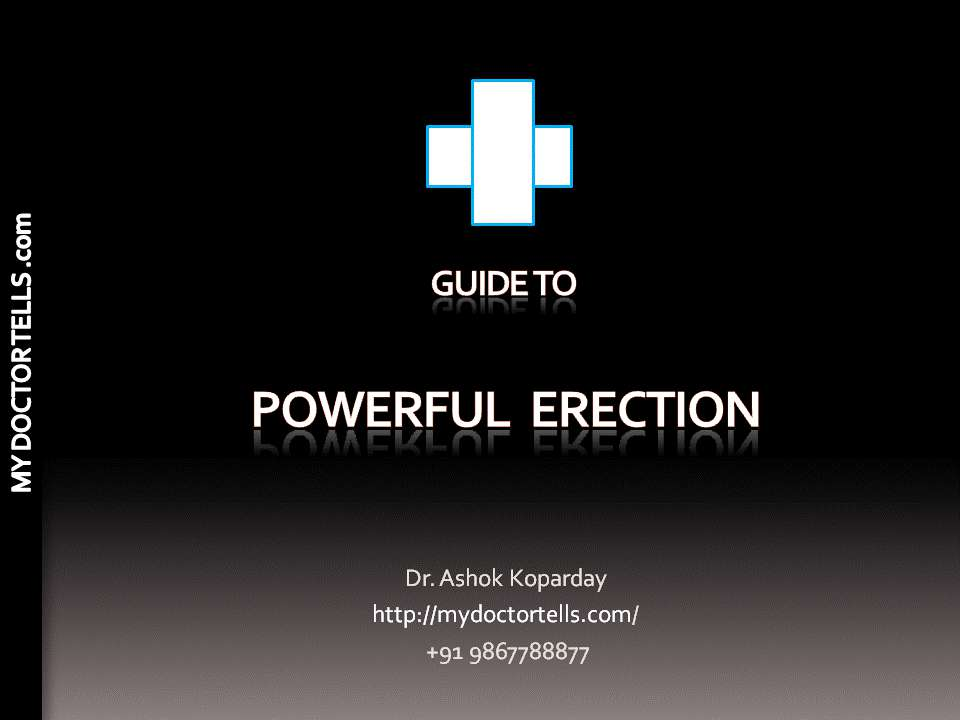 1.How can loss of erection, inability to sustain erection be treated naturally without medicines?