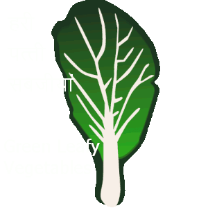 green leafy vegetables are rich source of iron and fibre. They also help in digestive process