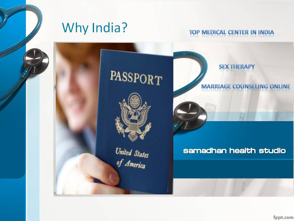 Medical Tourism in India Telemedicine Top Medical Center in India for Sex Therapy Samadhan Health Studio