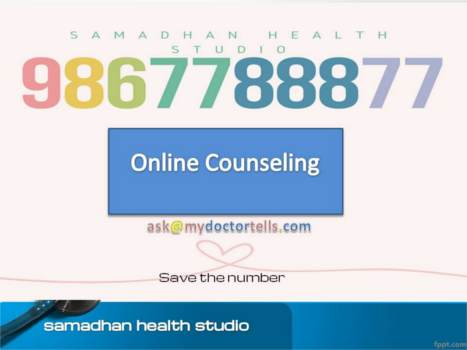 Medical Tourism in India Telemedicine Online Counseling Consultation On Phone Skype NRI Dr. Ashok Koparday Dr. Ashok Koparday Ex. Teaching Faculty, Seth G.S. Medical College KEM Hospital and Grant Medical College and JJ Hospital, University of Mumbai Samadhan Health Studio